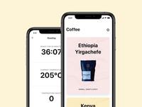 Coffee by Benjamin iOS application