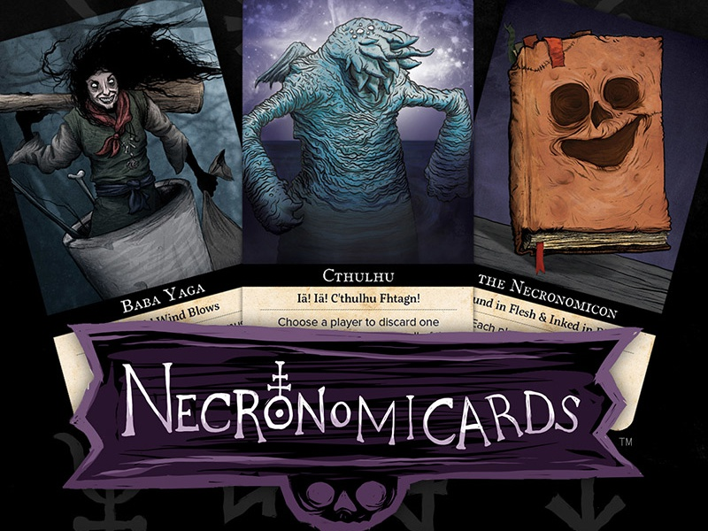NecronomiCards by Andy Hunt