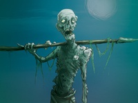 NecronomiCards - The Sea Draugr