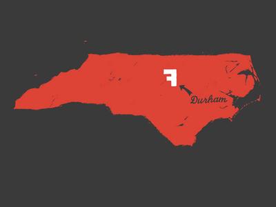 Fullsteam – Durham map shirt
