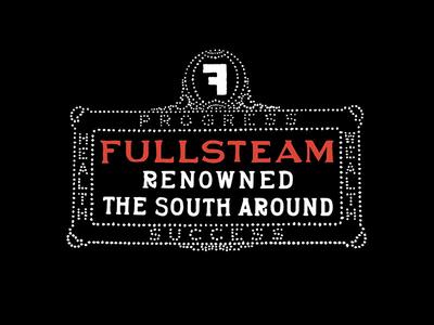 Fullsteam - Durham Sign shirt