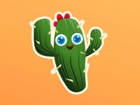 Fortnite cactus emoticon