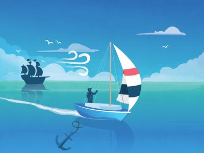 The Sailboat Experiment