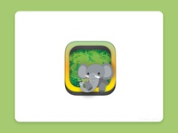 kids elephant appicon
