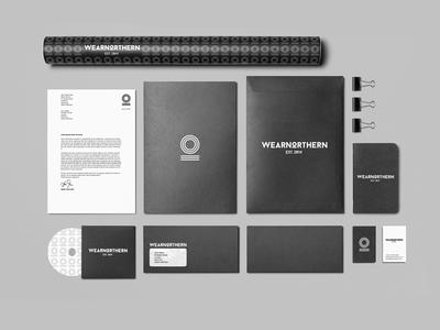 WearNorthern Corporate Identity – Stationary