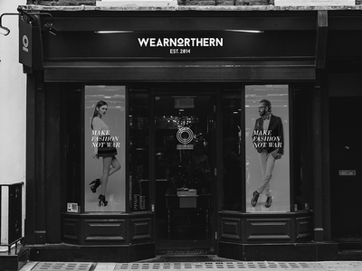 WearNorthern Corporate Identity – Store Concept