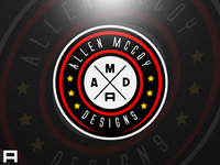 Allen Mccoy Designs Badge Logo