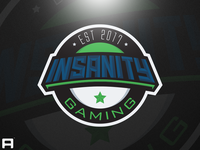 Insanity Gaming Badge Logo