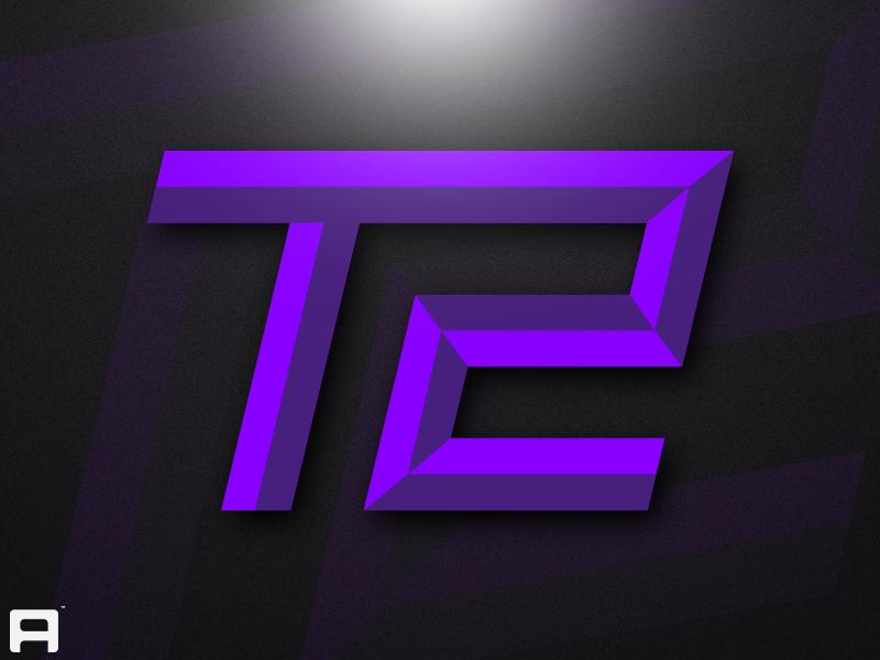 Esports T2 Logo number 2 letter t t2 logo t2 for sale illustration sports sportslogo mark esports logodesign brand identity logo branding