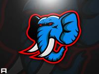 Elephant Mascot Logo