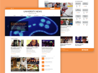 RIT University News Redesign