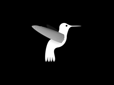 Humming bird symbol mark identity bird humming bird hummingbird