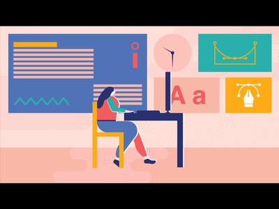 Murmurs of Earth character color design motion motion graphic illustration