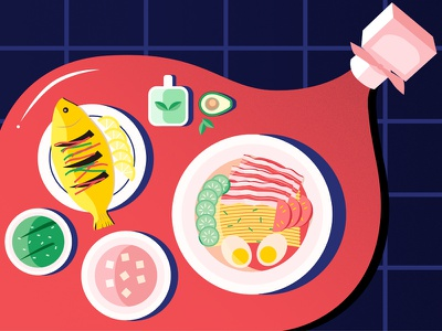 Chinese Words You Can't Translate into English food chinese illustrator illustration