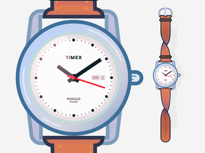 Passing The Time twist cheap watch timex