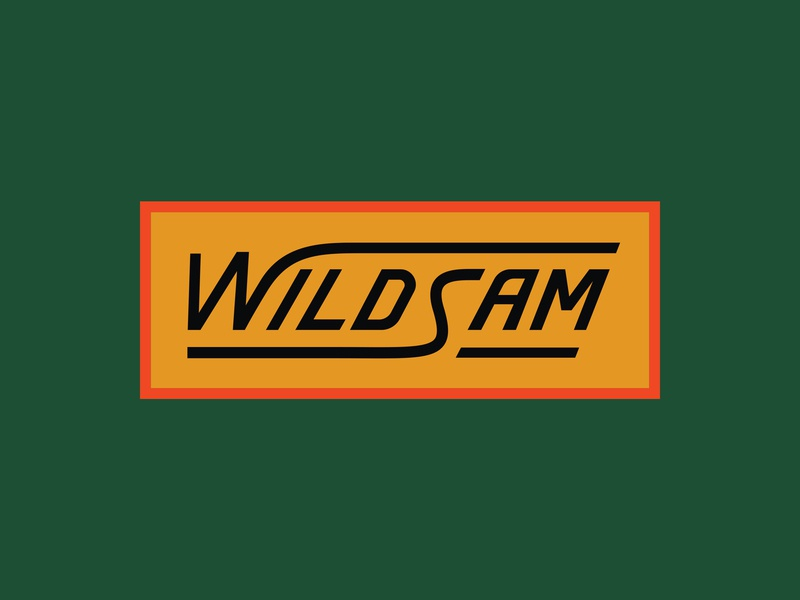 Wildsam Patch 2 outdoors wilderness lockup chiseled badge embroidered patch roadtrip sunset patch road travel wildsam
