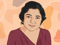 Portrait - Madhulika Sikka