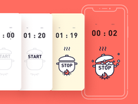 Cooking Countdown Timer-D14