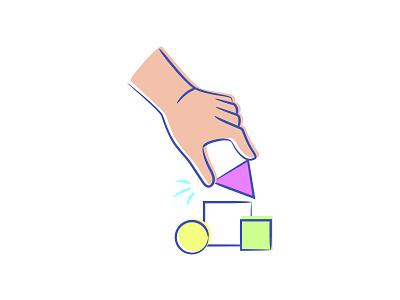 Kinesthetic spot kinesthetic ui spot illustration startup branding vector illustration