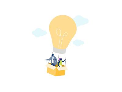 Innovation ideas innovation adobe vector ui sydney office inclusivity illustration hero illustration flat diversity digital creative company character design character business branding adobeillustator