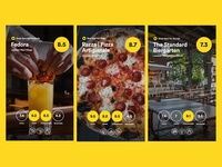 Food & Drink Review UI