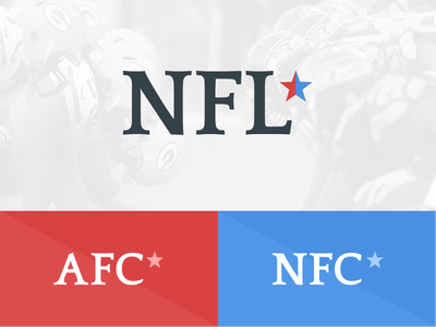NFL Logo Update logo flat ios design brand rebrand nfl