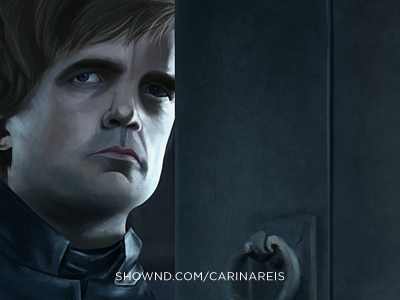 Tyrion Lanister tyrion lanister got game of thrones illustration raster bitmap photoshop face male