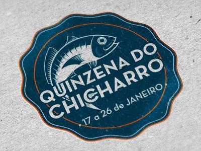 Chicharro logo fish chicharro food festival