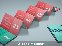 Z-Card  10 panels Mock-up