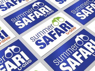 Summer Safari Branding