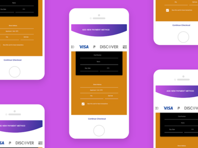 Daily UI Challenge 002: Credit Card Form