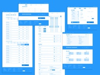Arline Booking Path Wireframes