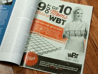 WBT Trade Publication Ad