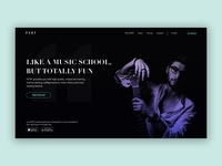 PERF - music learning app concept