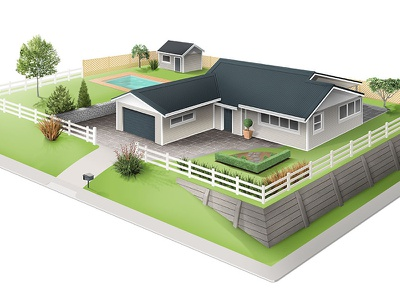 Urban Plot architecture house illustration