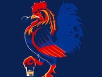Roosters mascot