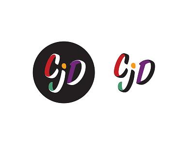 CJD Logo logo circle brand logo design
