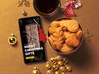 UI Design for Christmas