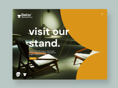Belax - Furniture Brand Concept