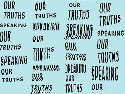 Scannerz branding design type warped typography text glitch scanner