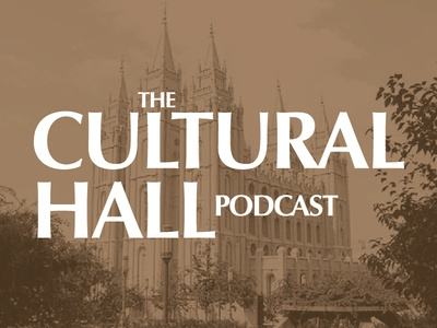 """The Cultural Hall Podcast"" Logo"
