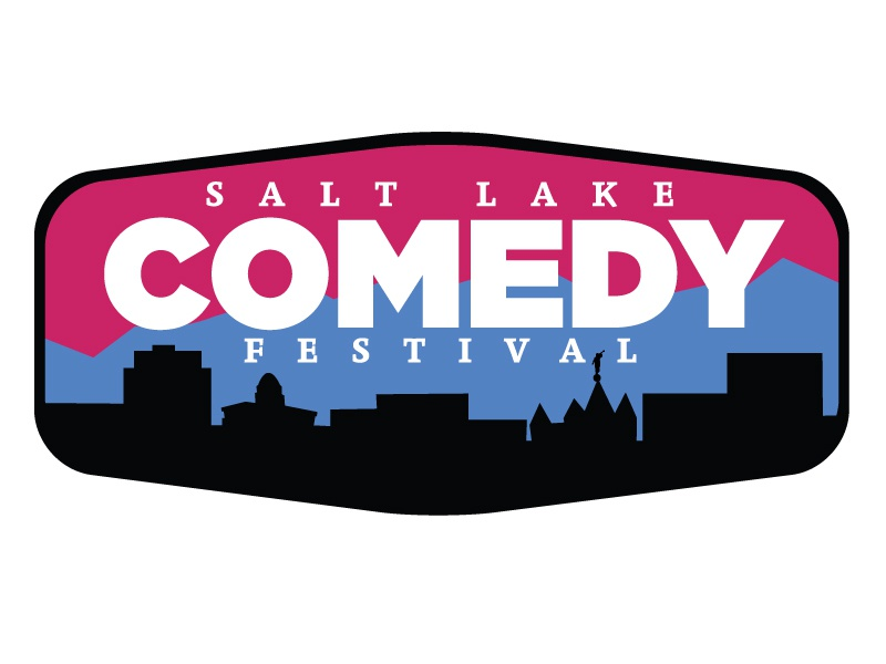 Salt Lake Comedy Festival logo comedy