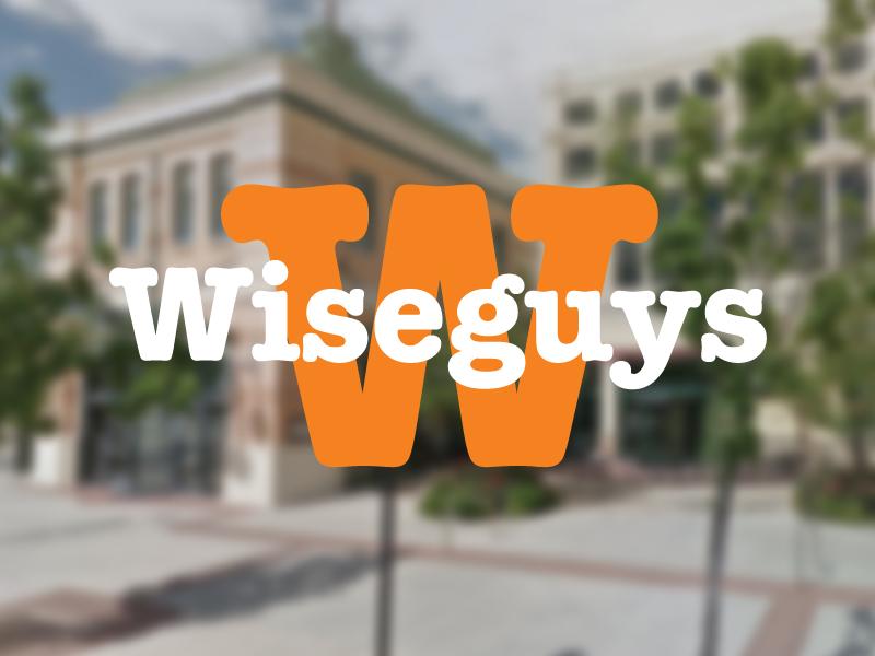 Wiseguys: Logo Update logo comedy wiseguys