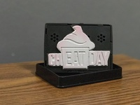 """Cheat Day"" Logo Stamp"
