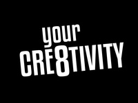 """Your Cre8tivity"" Logo (2017)"