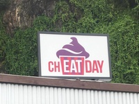 Cheat Day | Brick & Morter Signage