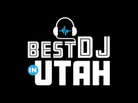 "Logo: ""Best DJ In Utah"""