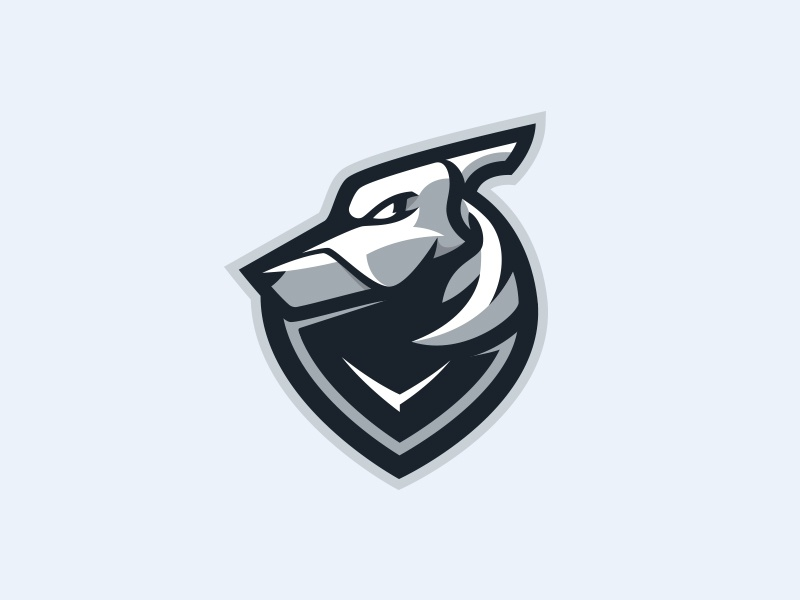 Grayhound greyhound esports team animal hound sports mascot