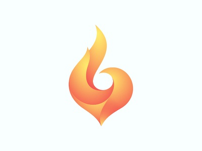 Ignite fire logo flame