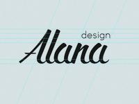 Alana Logo Design